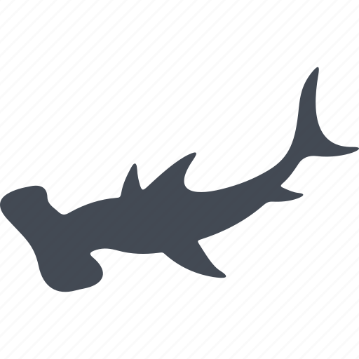 Animal, fish, ocean, sea, fins, hammer, water icon - Download on Iconfinder