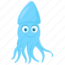 cirrina octopus, marine animal, octopus, sea animal, tropical fish icon