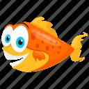 aquarium fish, freshwater fish, goldfish, oranda, ryukin goldfish icon