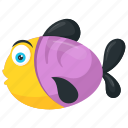 aquatic animal, aquatic animal rainbow, creature, fish, freshwater, freshwater fish, multicolor, multicolor fish, rainbow fish, sea, singaporean, singaporean fish icon