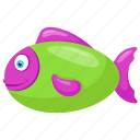 ray-finned fish, salmon, salmon fish, sea animal, trout icon