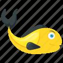 edible fish, freshwater fish, sardine fish, seafood, tropical fish icon