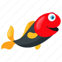 aquarium fish, freshwater fish, harlequin rasbora, rasbora fish, tropical rasbora icon