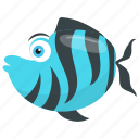 cartoon tiger barb, tiger barb, tiger barb mate, tiger stripes fish, tropical fish icon