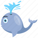animal, aquatic, fish, huge, killer, largest, mammal, marine, sea, underwater, whale, wild icon