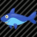 cartoon dolphin, dolphin, human friend fish, mammal fish, sea animal icon