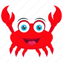 carb, lobster, sea animal, seafood, velvet crab icon