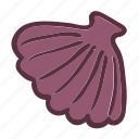 clam, ocean, sea, seashell icon