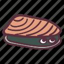 mussel, clam, creature, sea, ocean