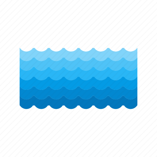 blue, nature, ocean, pool, sea, water, wave icon