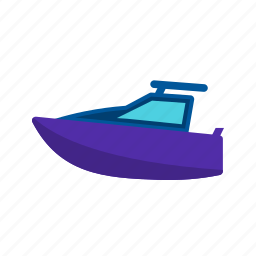 boat, cruise, motor, ocean, safari, sea, yacht icon
