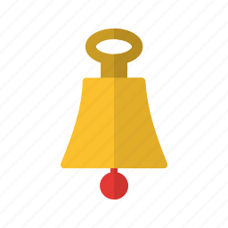 bell, loud, rope, ship, sound, travel, yacht icon