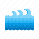 blue, ocean, surf, surfing, water, wave, waves icon