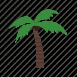 beach, coconut, island, maldives, palm, sea, tree icon