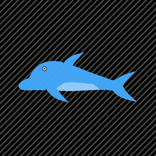 animal, dolphin, fish, mammal, marine, nature, ocean icon