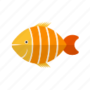 animal, aquatic, clown, clownfish, cute, fish, marine icon