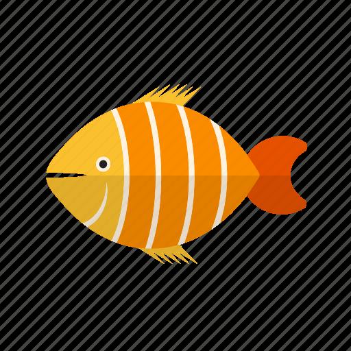 animal, aquatic, clown, clownfish, cute, fish, marine icon