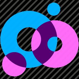 air, bubble, cellophane, cool, design, sea, underwater icon