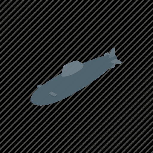 illustration, isometric, marine, sea, submarine, underwater icon