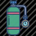 oxygen, cylinder