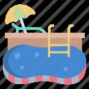 swimming, pool