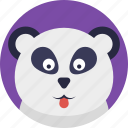 animal, cute animal, giant panda, panda, panda bear icon