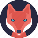 animal, carnivorous mammal, land animal, wildlife, wolf icon