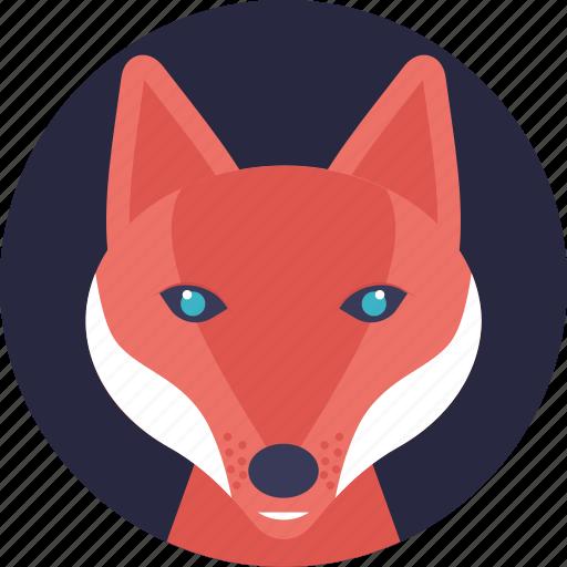 animal, carnivorous mammal, land animal, wildlife, wolf icon