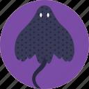 animal, fish, giant of the ocean, manta ray, oceanic manta ray, sealife icon