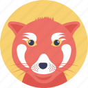 cartoon character, cat face, domestic animal, kitten, pet icon