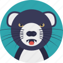 animal, cartoon rat, mouse, rat, rodent icon