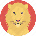 cartoon lion, lion, social cats, animal, strongest felines
