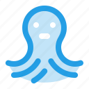 animal, nature, octopus, sea, seafood icon