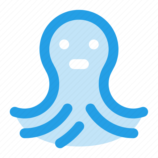 animal, nature, octopus, sea, seafood icon
