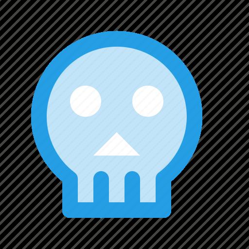 dark, halloween, human, scary, sea, skull icon
