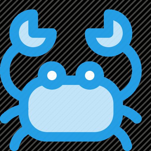 animal, cancer, crab, holiday, ocean, sea, seafood icon