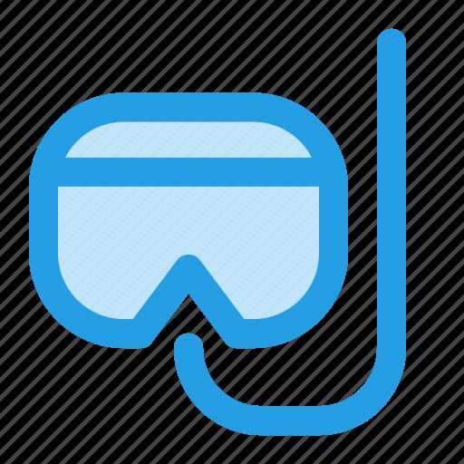 diving, goggles, ocean, scuba, sea, swim, underwater icon