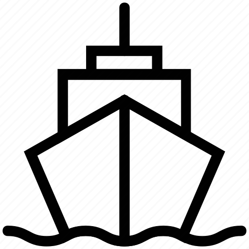 boat, cargo, freight ship, sailing boat, sails, ship, shipment, vessel icon