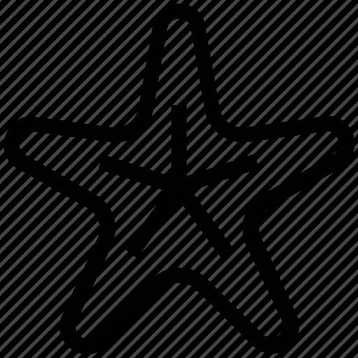 favorite, fish, sea animal, seastar, starfish icon