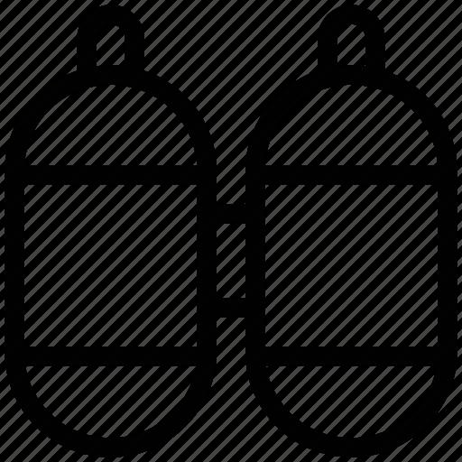 diving tank, oxygen, oxygen tank, scuba cylinder, scuba tank icon
