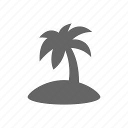activity, beach, holiday, islands, journey, leisure, palm, recreational, relaxation, sea, summer, sunny, travel, tropical, vacation, vacations icon