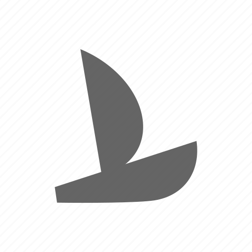 sailing, sport, water icon