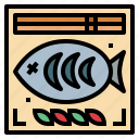 animal, cooking, fish, food icon