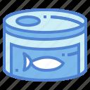 can, fish, food, tuna icon