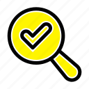 find, search, view icon