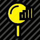 find, search, service, signal icon