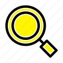 general, magnifier, magnify, search icon