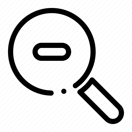 research, search, zoom icon