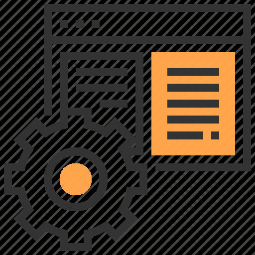 content, internet, marketing, optimization, search, seo, website icon