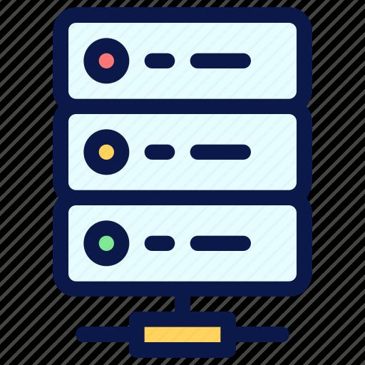 cloud, hosting, seo, server icon